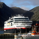 Hurtigruten arrives